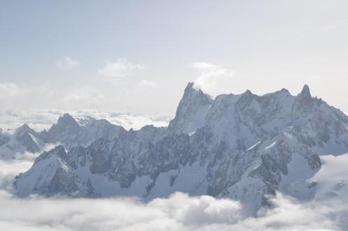montagnes chamonix